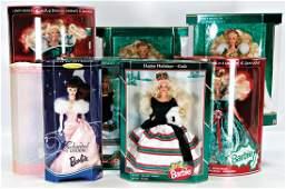 MATTEL Konv. Barbie, neuere Produktion, 6 Teile, Barbie