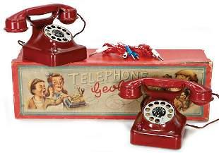 telephone system GEOBRA consists of 2 telephones