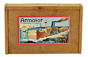 MARMATOR model kit with drive wooden construction kit