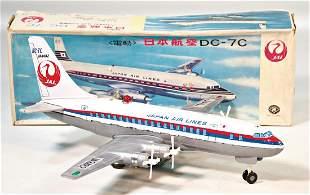 Japan AirLines 4engined propeller plane sheet