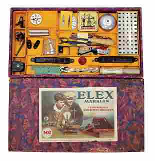 MRKLIN ELEX construction kit 502 almost without