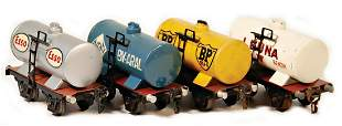 MRKLIN track 0 1774 4 pieces tankcar 2axled