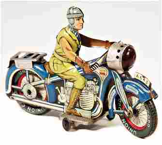 ARNOLD motorbike, sheet metal, lithographed, 19.5 cm,