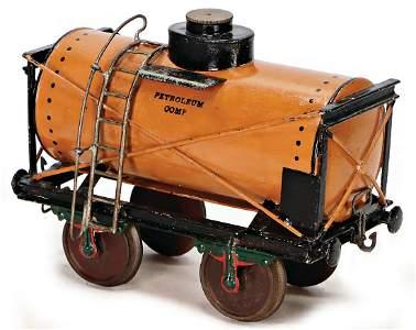 MÄRKLIN track 4, tank-car, 2-axled, 21 cm, sheet metal,