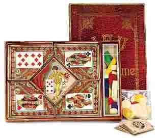 card game Jeu du Dain Jaune France 48 playing