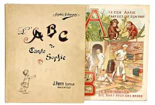 picture book France ABC de Tante Sophie by J