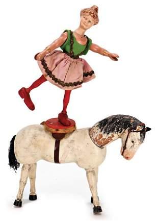SCHNHUT Humpty Dumpty circus horse white with