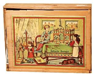 wooden construction kit Gothic construction kit