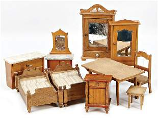 parts of a dollhouse furniture program bedroom 2