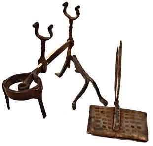 skewer holder 125 cm tripod 1 waffle iron with