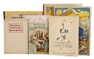 mixed lot of fairy tales and picture books