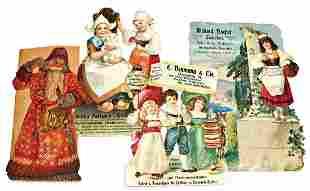 Oblatenbilder Werbebilder 2330 cm 1 Weihnachtsmann