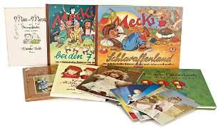Konv Bcher Nachdrucke KTHE KRUSE Buch Mecki