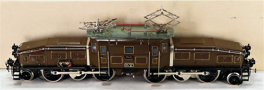 MANFRED LANGEFELD Replica, elektrische Lokomotive, Spur