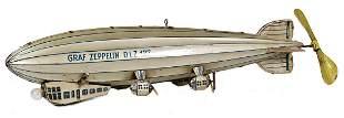 Graf Zeppelin, DLZ 127, German, '30s, sheet metal,