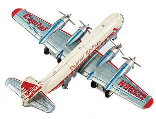 MAR Japan, Capital Viscount 321, 4-engined prop plane,