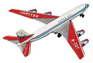 Super Jet, 5-engined jet, sheet metal, lithographed,