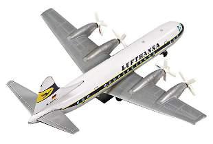 4-engined prop plane, Japan, Lufthansa, 38 cm, sheet