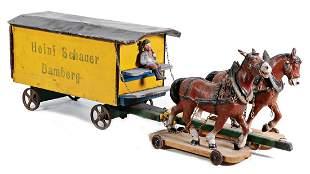 HEINI SCHAUER BAMBERG furniture truck, with 2 mass