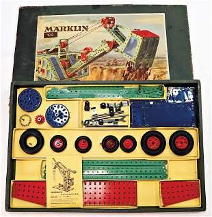 MäRKLIN metal construction kit, items No. 1012, in