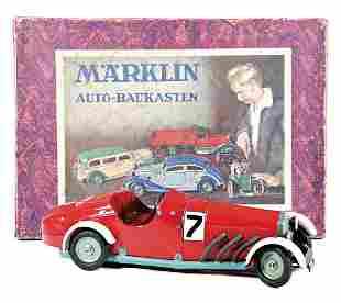MäRKLIN construction kit car, racing car, complete with