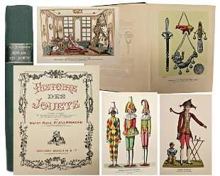 book, Historie des jouets, France around 1900,