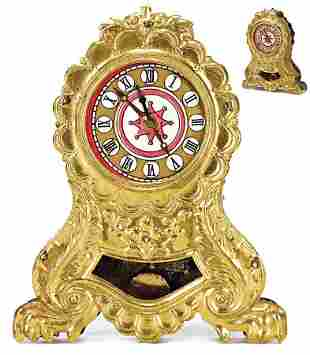 clock for fireplace, for a big dollhouse room, height: