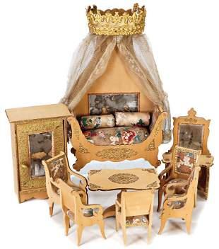 BADEUILLE unusual dollhouse furniture program, probably