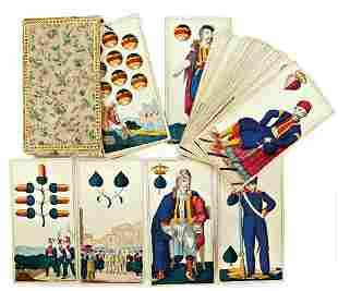 card game (Greece pattern), German manufacturer ,