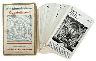 Alt Mannheimer Quartett-Spiel, published by the
