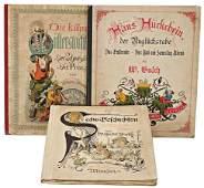3 Teile, Bilderbücher, Wilhelm Busch, Die kühne