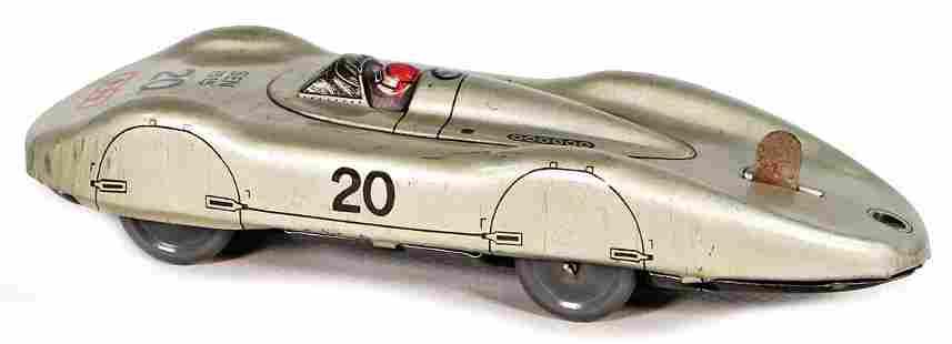 racing car, sheet metal, without clock mechanism,