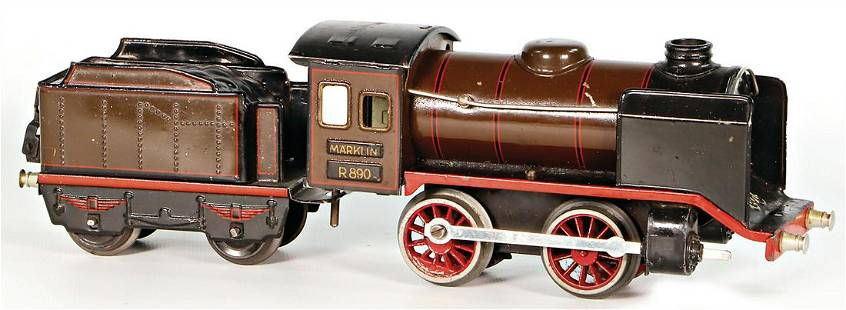 Märklin track 0, clock mechanism steam engine, R890,