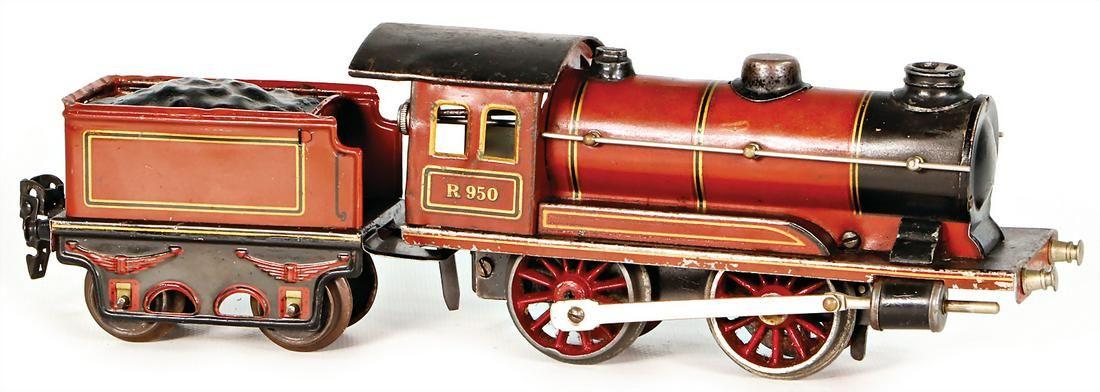 Märklin track 0, clock mechanism steam engine, R950,