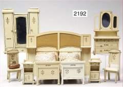 GOTTSCHALK, furniture program for a dollhouse bedroom,