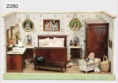 dollhouse furniture program, c. 1925, cupboard, height