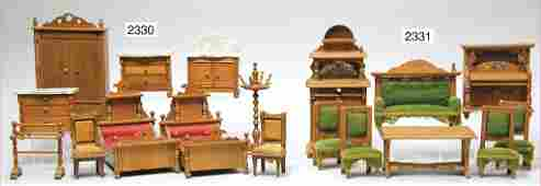 dollhouse furniture program, bedroom, pear tree, cupboa