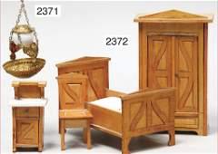 furniture program for a dollhouse bedroom, bed, 16 cm,