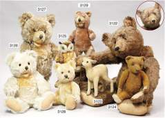 STEIFF, unusual part of the Steiff production, bear, pr
