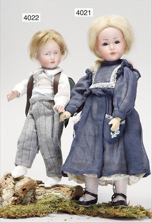 KÄMMER & REINHARDT, 114, 23 cm, bisque socket head, blu