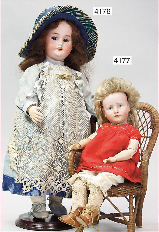 KÄMMER & REINHARDT, 114, bisque character doll, 34 cm,