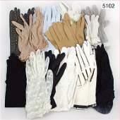mixed lot of ladies' resp child's gloves, c. 1920 -