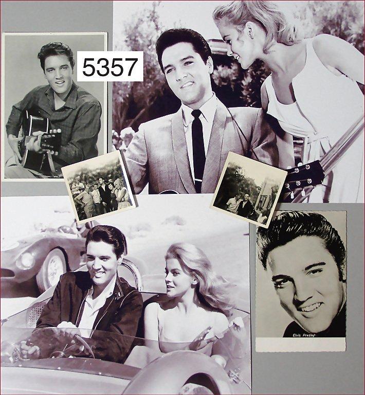 mixed lot Elvis Presley, copies of B/W photos, among