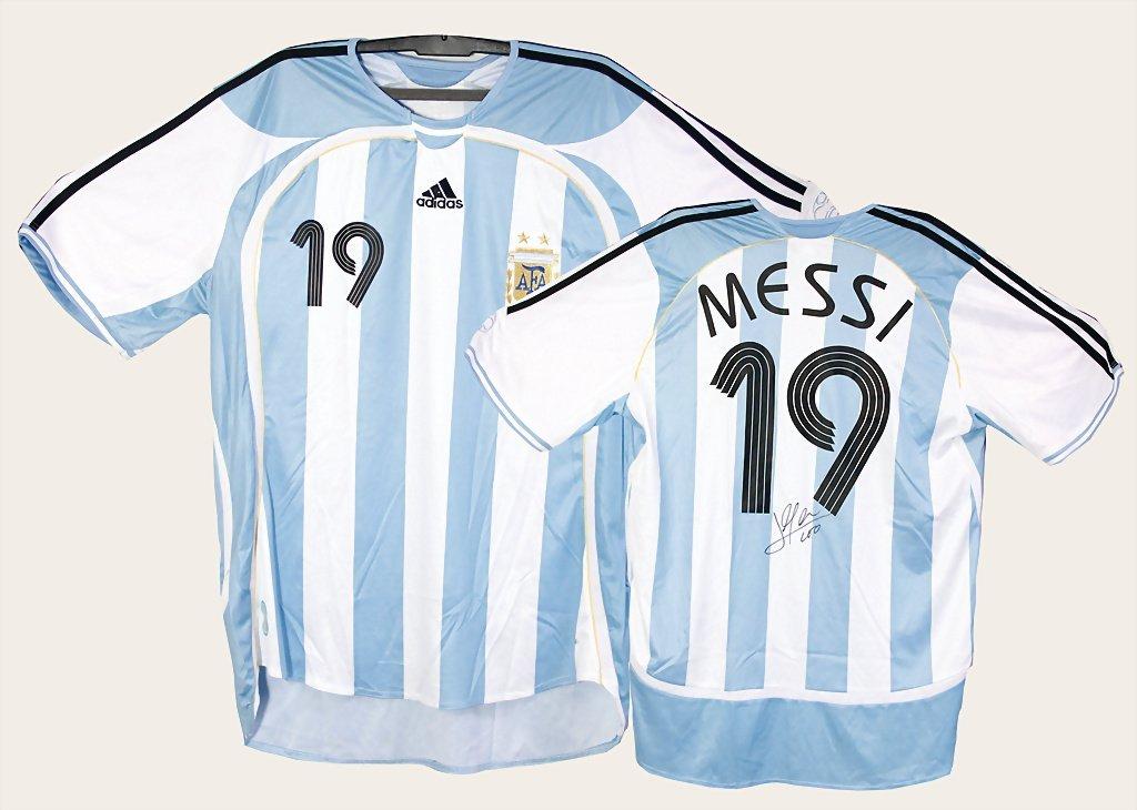 Argentine national team shirt, with original signature