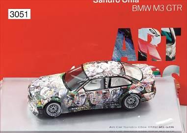 BMW Modellfahrzeug, Maßstab 1:18, BMW Art Car, Museum-E