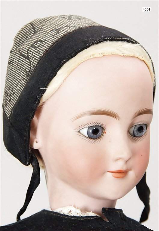 SIMON & HALBIG, 1308 E, doll with bisque porcelain