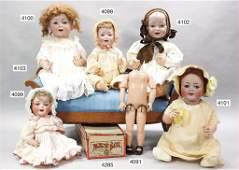 KÄMMER & REINHARDT, bisque head doll, marked K&R Simon