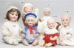 KÄMMER & REINHARDT, baby with bisque socket head,