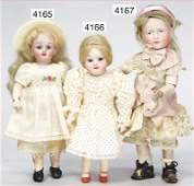 KÄMMER & REINHARDT, small doll with bisque porcelain
