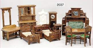dollhouse furniture program, living-room and bedroom